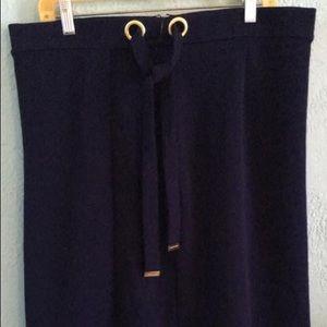 Michael Kors NWT navy skirt